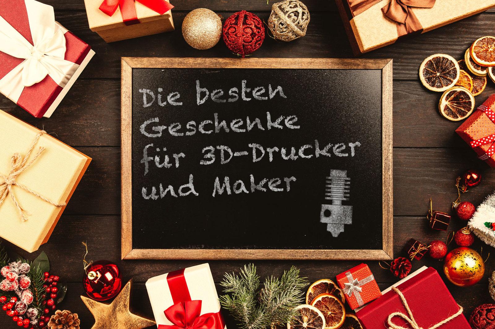 die besten weihnachtsgeschenke für 3d-drucker | 3d-diy